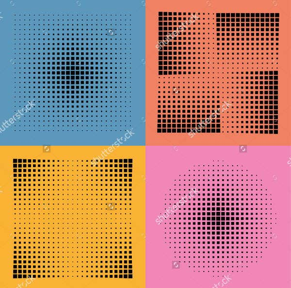 halftone-square-pattern