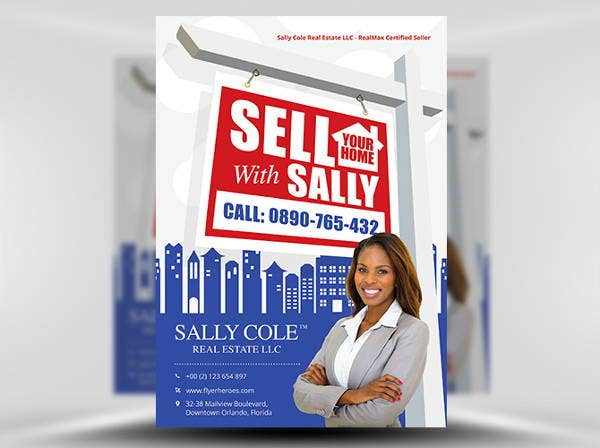 home-sell-realtor-flyer