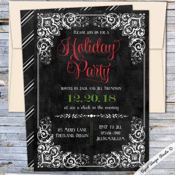 printable-office-holiday-dinner-invitation