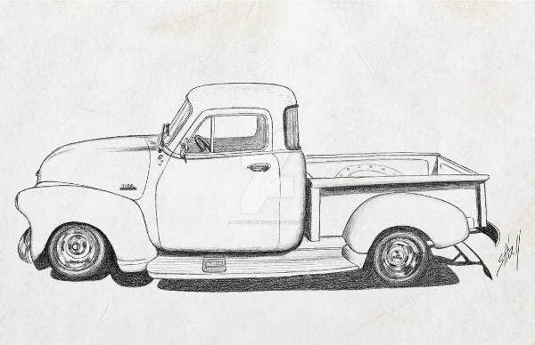 7  vintage sketches  art ideas