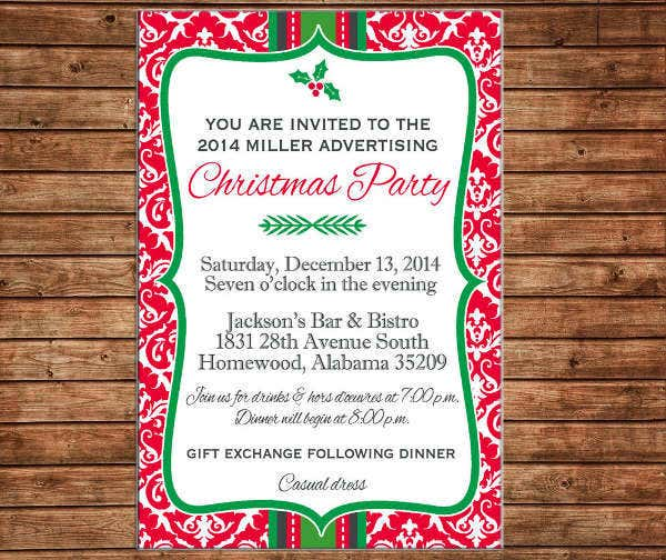 printable-business-christmas-dinner-invitation