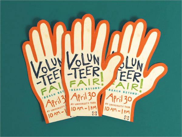 campaign volunteer flyer