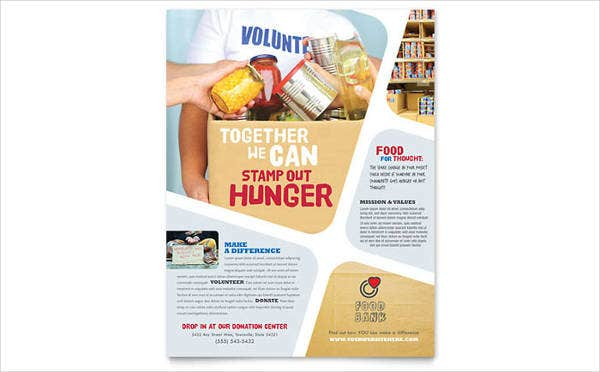 food-bank-volunteer-flyer