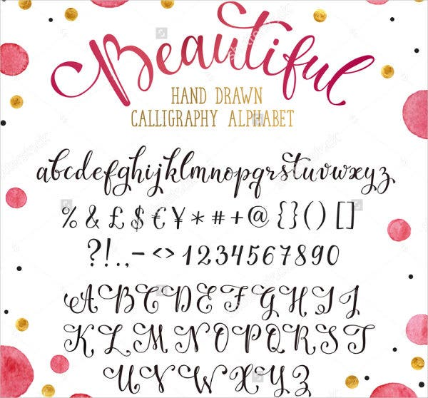 hand-drawn-caligraphy-font