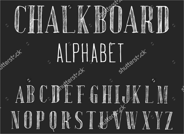 hand-drawn-chalk-font