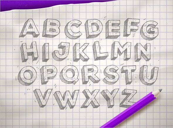 hand-drawn-sketch-font