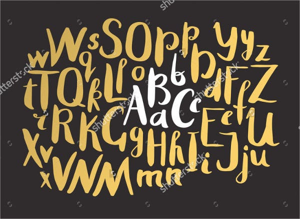 hand-drawn-lettering-font