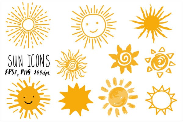 hand-drawn-sun-icon