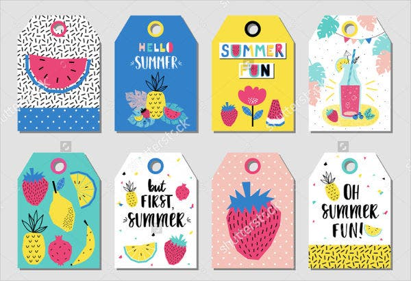 Summer Gift Labels
