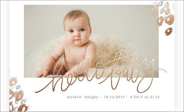 baby name label