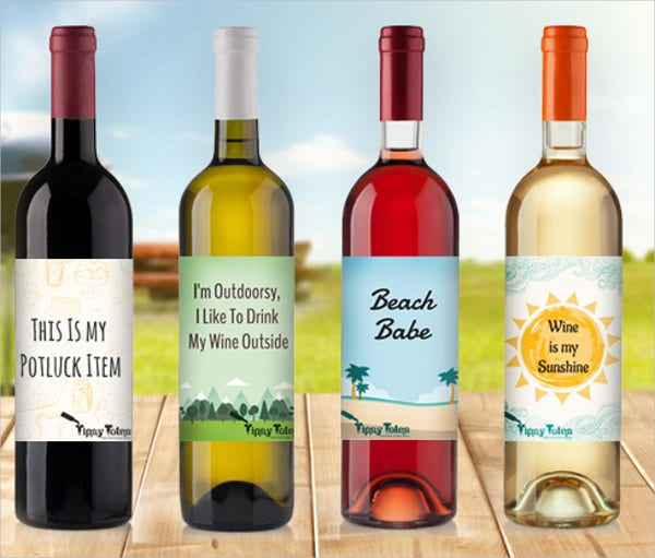 Summer Wine Label