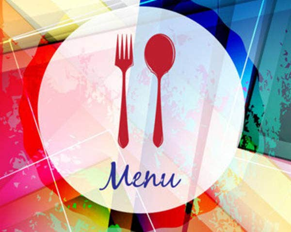 retro restaurant vector
