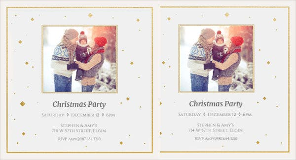 free email holiday party invitation