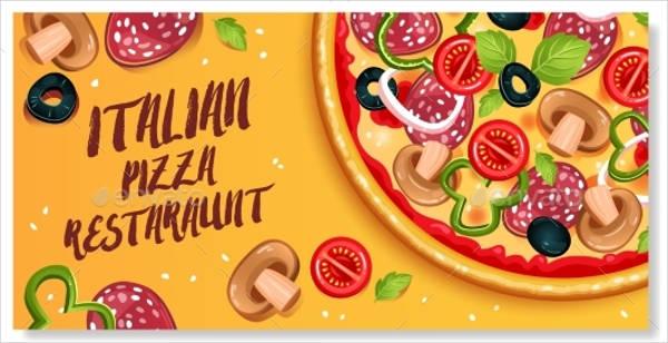 pizza restaurant vector