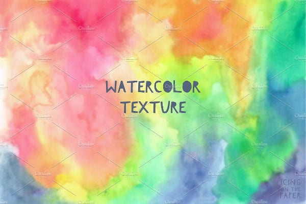rainbow watercolor paper texture