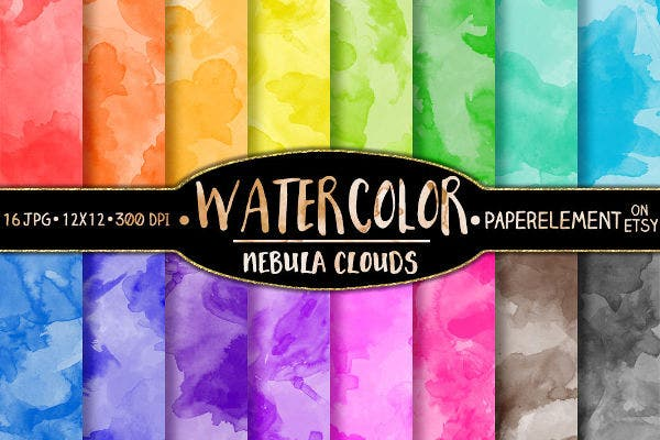 Printable Watercolor Paper Texture