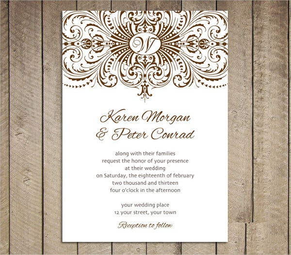 Free Engagement Invitation Templates 9 Engagement Party Invitations  Free Editable Psd Ai Vector .