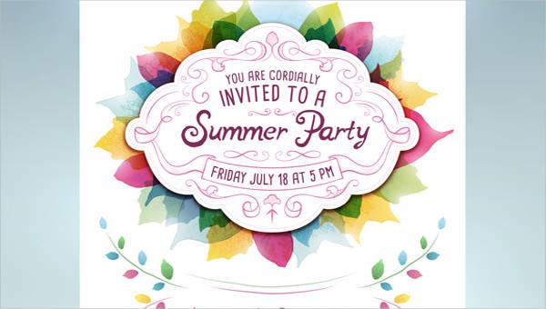 40 Free Party Invitation Templates