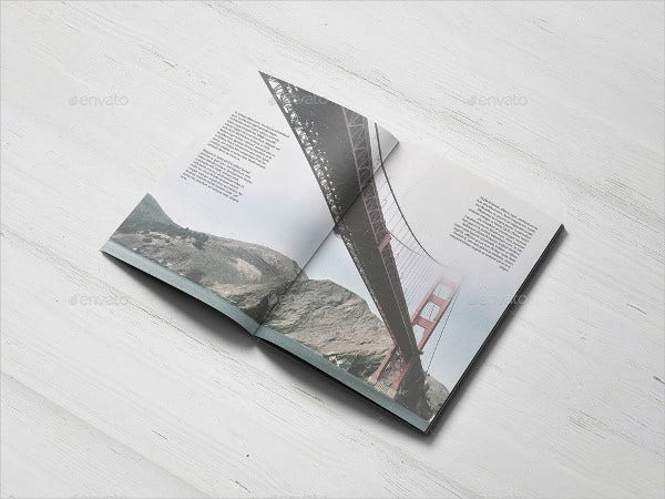 A5 Catalogue Mockup