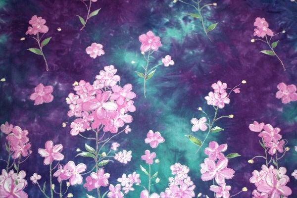 Purplr Floral Texture