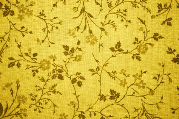 Gold Floral Texture