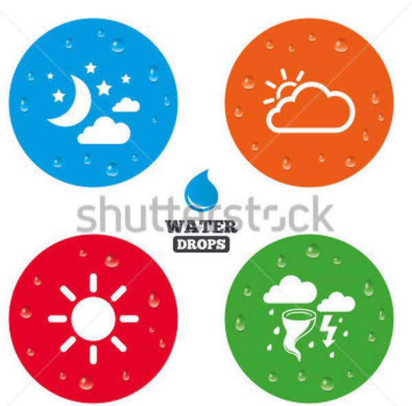 bubble weather icon
