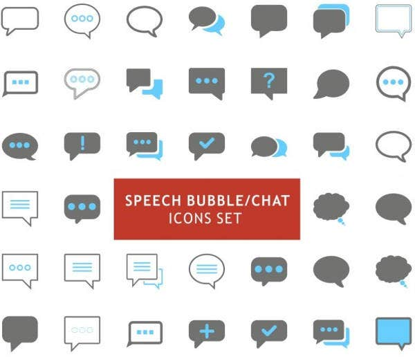 bubble-letter-icons
