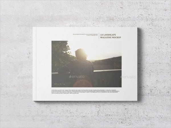 Landscape Catalogue Mockup