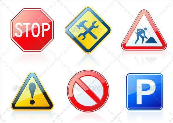 road-safety-icons