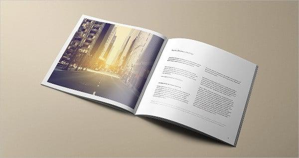 Corporate Catalog Mockup