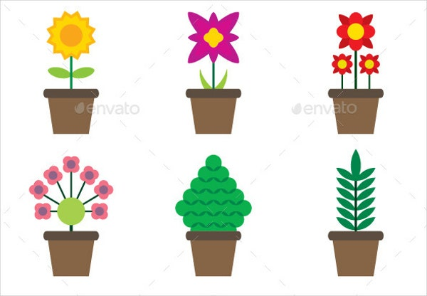 Decorative Plant Icons