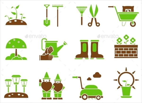 Gardening Plant Icons