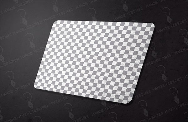 Rectangle Mouse Pad Mockup