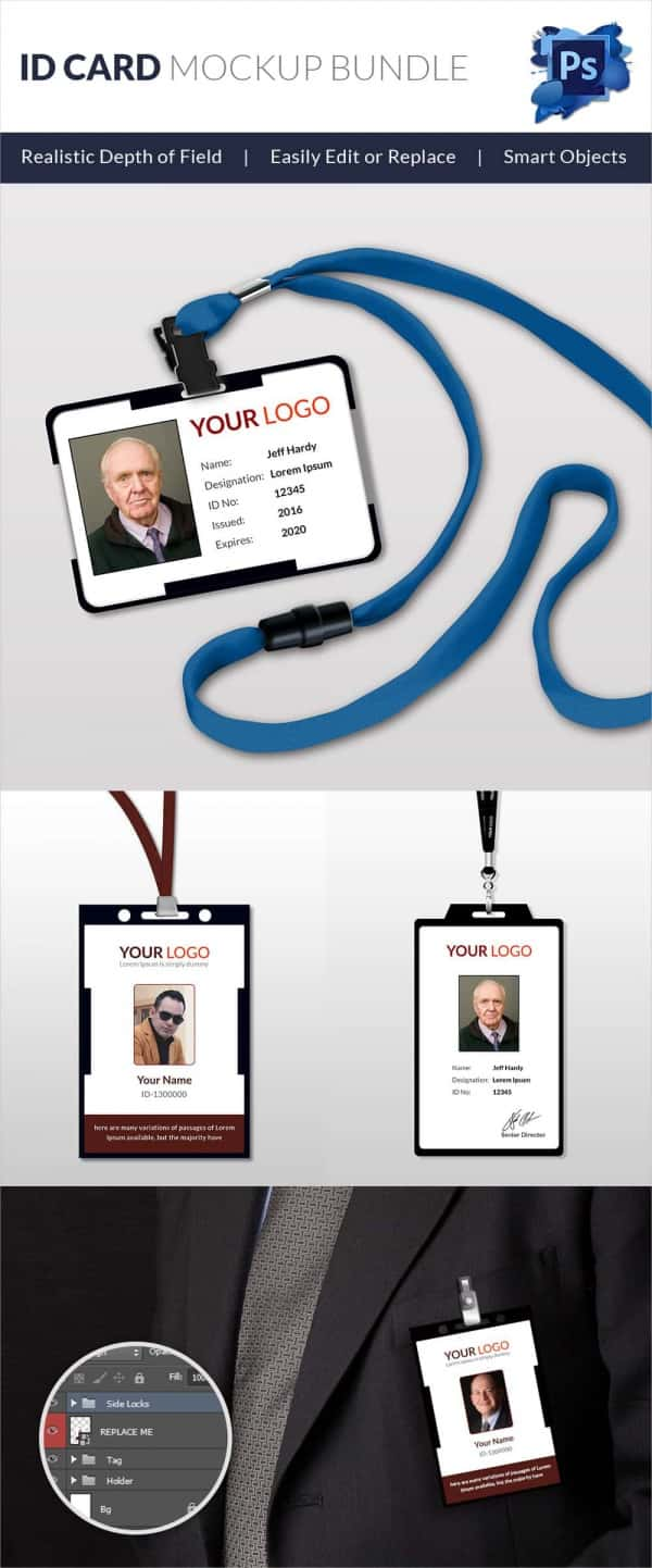 30+ Blank ID Card Templates - Free Word, PSD, EPS Formats Download ...