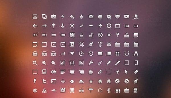 Minimal Web Icons