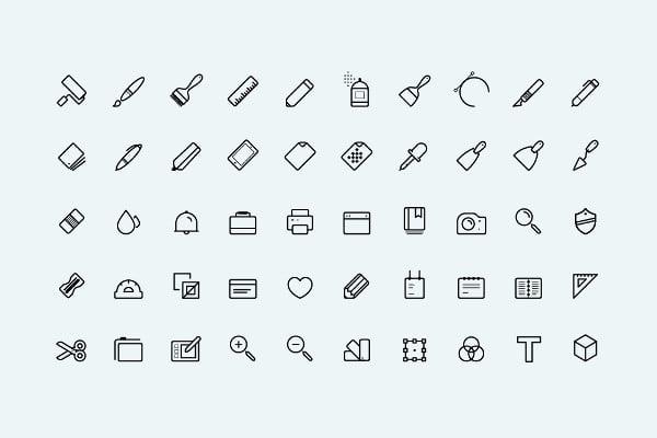 Minimal Art Icons