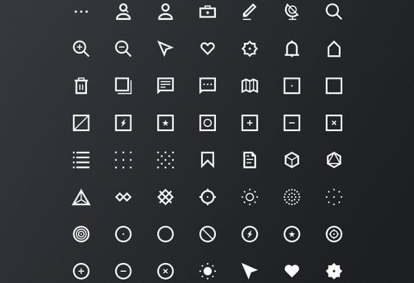 Flat Minimal Icons
