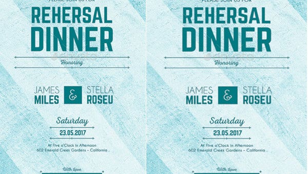 sample dinner party invitations