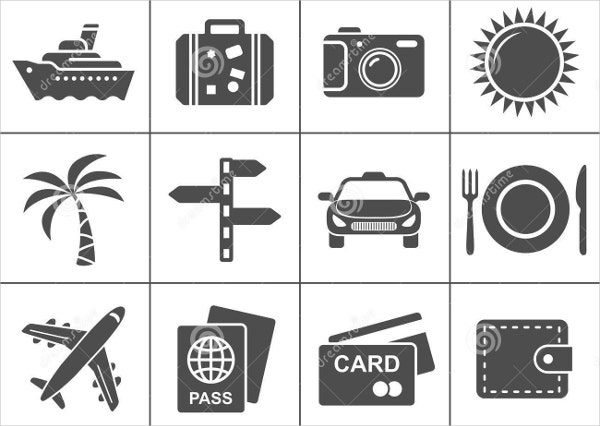 Free Travel Tourism Icons