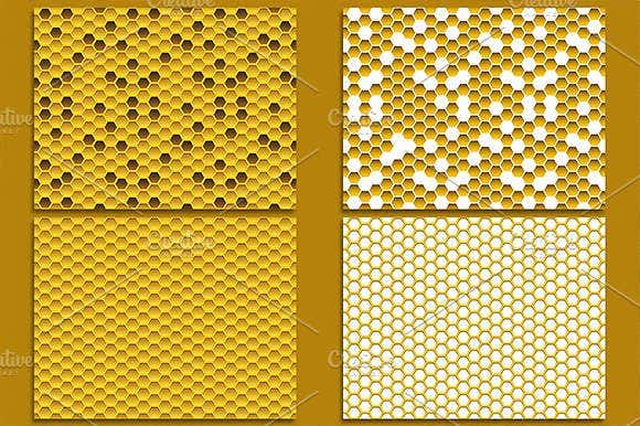 honeycomb-tile-pattern