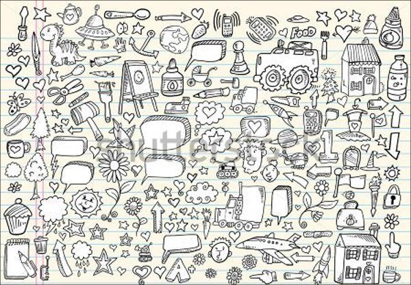 doodle sketch vector art