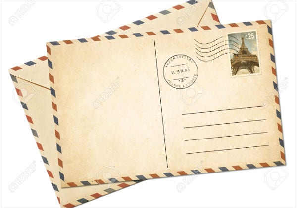 7+ Vintage Postcard Templates - Free PSD, AI, Vector EPS Format ...