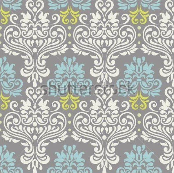 colorful-damask-vector