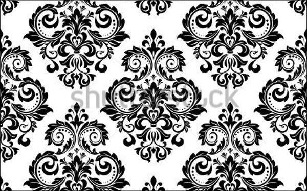 floral-damask-vector