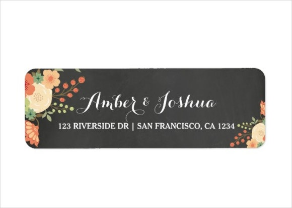 chalkboard-address-label