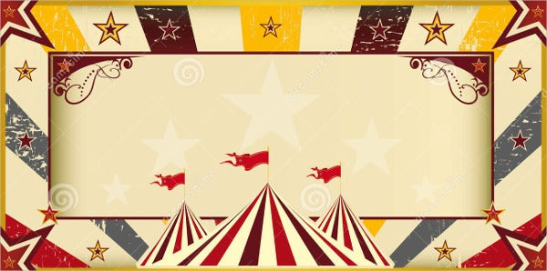 Free Circus Invitation Template