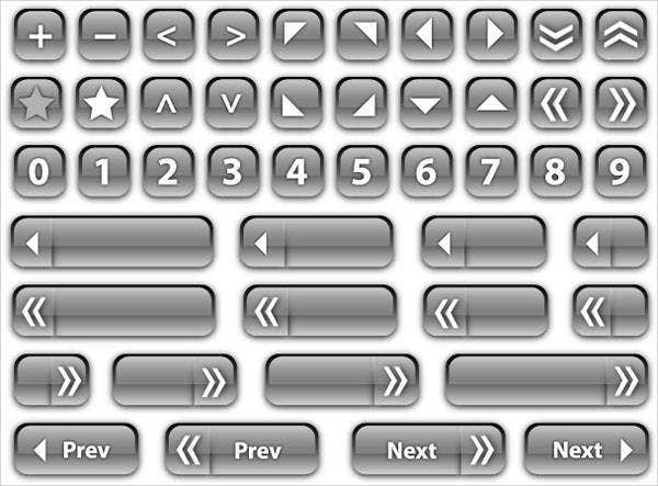 glass-button-vectors