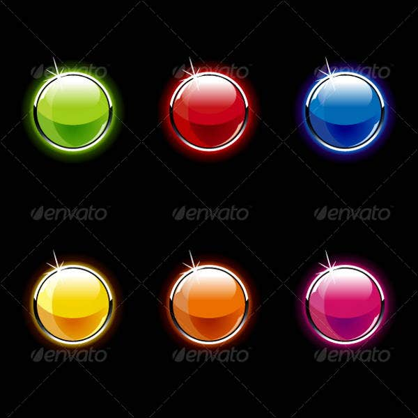 round-glass-buttons