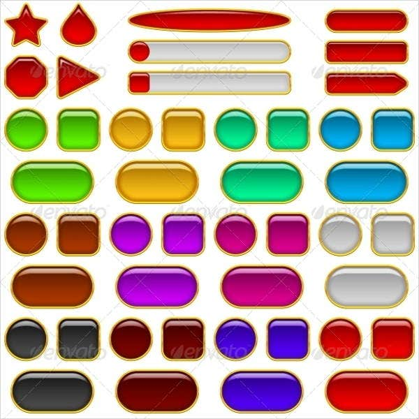 colorful-glass-buttons
