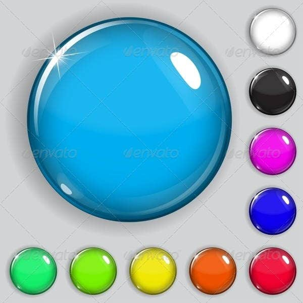 circular-glass-buttons